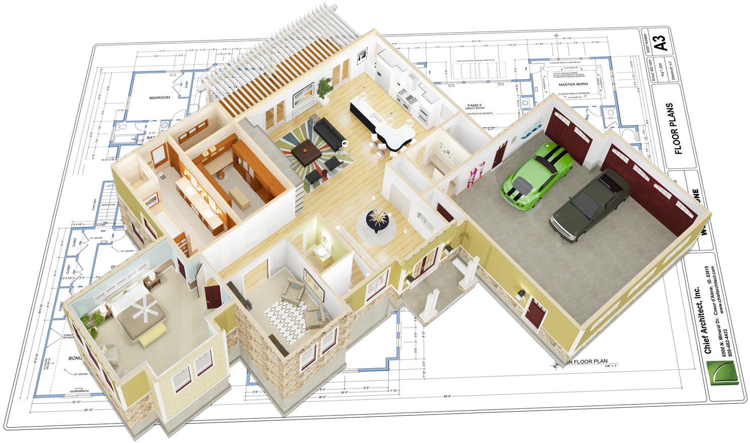Chief architect interior software for professional - 3d interior design software ...